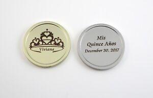 Quinceanera Commemorative Coin - Free Custom Dark Engraving - Mis Quince Anos