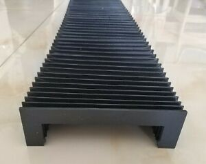CNC linear rail protection bellows cover width175mm x height 54.05mmx Lmax1300mm