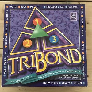 Paul Lamond TRIBOND Board Game 2001 2+ Players Age 12+ Quiz Trivia Riddles