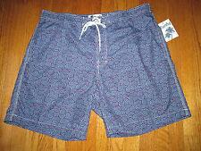 New Surf & Swim Co. Mens Size XXL Lotus Swirl Swim Trunks Shorts