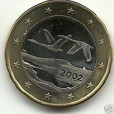 manueduc   FINLANDIA  2002  1  EURO   Nuevo  Sin Circular