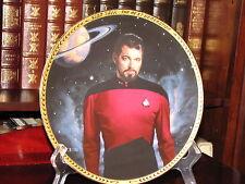 Star Trek Plate Commander William T. Riker
