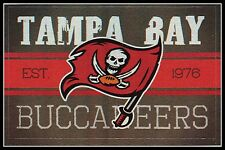 LOT 5 TAMPA BAY BUCCANEERS NFL LICENSED FOOTBALL VINTAGE STICKERS FREE SHIPPING