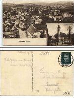 1930 Stempel SOHLAND SPREE auf Mehrbild-AK Totalansicht Hauptstrasse Kirche