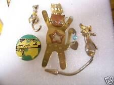 CUTE ANIMAL,CAT Lapel pins & Hat Pins or Tie Tacs #35