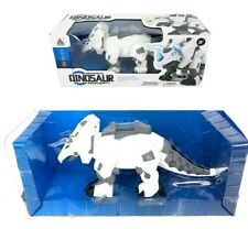 New Battery Operating Dinosaur Triceratops Music Sounds Walking Light Up Toy