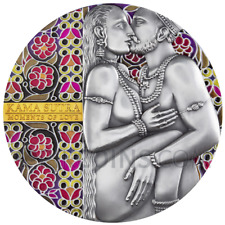 KAMA SUTRA - MOMENTS OF LOVE - CAMEROON 3000 FRANCS 3oz 2019