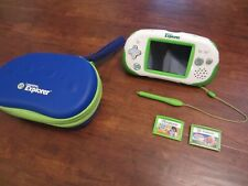 LeapFrog Leapster Explorer Learning Game System w/ 3 Games *Excellent Condition*