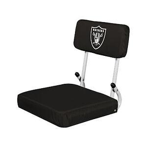Oakland Raiders Hard Back Stadium Seat