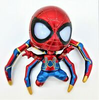 Spider-Man - Spiderman Figure (Magnetic feet, LED eyes, & Batteries included)