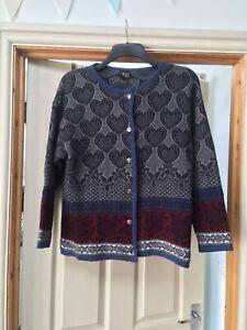 Vrikke Norwegian pure Wool Cardigan