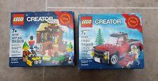 Lego creator small Limited edition Christmas sets 40106/40083