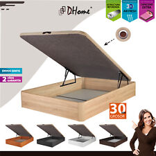Canape Abatible Tapizado 3D GROSOR 30MM LUJO 4 válvulas esquinas canapé madera