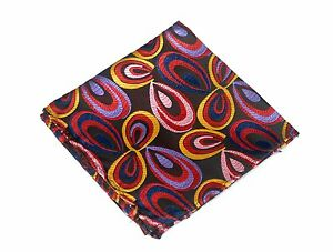 Lord R Colton Masterworks Pocket Square - La Boca Earth Silk - $75 Retail New