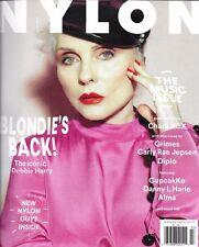 NYLON Magazine Blondie Debbie Harry Music issue Charli XCX Grimes NEW