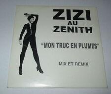 Zizi Jeanmaire - mon truc en plumes - cd single 4 titres mix et remix - 1995