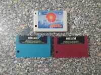 Lot of 3 MSX Cartridge sakhr Champion Boulder Dash صخر Vintage ( all models )