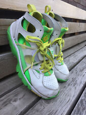 Nike Air Huarache Shoes Mens 11 White Green Basketball