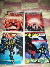Cyclops #1 2 3 4 of 4 Icons Uncanny X-Men Vaughan Palmiotti Marvel Comics B3