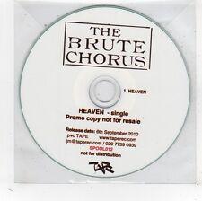 (FV716) The Brute Chorus, Heaven - 2010 DJ CD