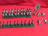 HINCHLIFFE 25/28mm PAINTED & BASED NAPOLEON'S ALLIES BAVARIAN TROOPS X 31 figs