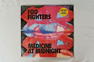 Foo Fighters - Medicine at Midnight - Limited Indie Blue Vinyl Record