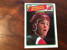 1988-89 O-Pee-Chee #122 Brendan Shanahan RC - NM