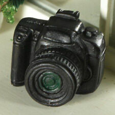Dolls House Miniature 1:12th Scale Black SLR Camera