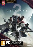 Destiny 2 Jeu pour PC version boite neuf et scellé version française
