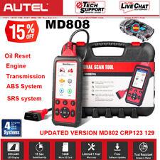 ABS SRS Autel MD808 OBD2 Diagnostic Scanner Tool Auto Fault Code Reader 4 System