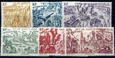 INDE 1946 Yvert PA 11-16 * SATZ TCHAD AU RHIN (F3694