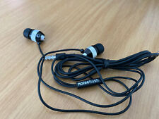 NOISEHUSH NX40 3.5MM EARPHONES WITH MIC FOR SMARTPHONES IPAD TABLET BLACK SILVER