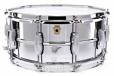 Ludwig Supraphonic Chrome Over Brass Snare Drum 14x6.5 - Video Demo
