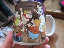 Gorgeous Vintage Disney Snow White and the seven dwarfs Mug