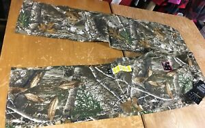new REALTREE EDGE Camo 5-pocket Stretch Flex Relaxed PANTS Mens XL 40-42 x 31.5