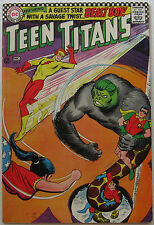 Teen Titans #6 (Nov-Dec 1966, DC), VFN-NM, Doom Patrol app, Beast Boy crossover