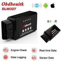OBD2 ELM327 V1.5 Bluetooth/WIFI Car Scanner Android Torque Diagnostic Scan Tool