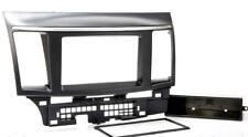 Mitsubishi Lancer Evo cyo auto radio diafragma instalación marco 1-din negro