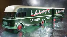 * Brekina 57610 Lauffs AACHEN Lorry and Trailer 1:87 HO Scale