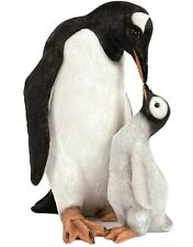 Penguin & Baby Garden Ornament Figure Mother & Chick Figurine Statue Home Décor