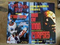 Living Dead Dolls - House Of 1000 Corpses Set - Spaulding, Baby & Otis - NEW