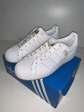 Mens Adidas Originals Superstar Trainers White Size 6 UK - 100% Authentic