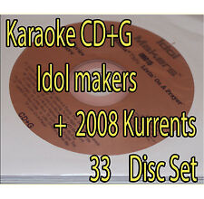 KARAOKE 2008 Kurrents + Idol Maker OVER 620 SONGS OLD AND NEW  Songs+ bonus!!