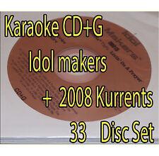 KARAOKE 2008 Kurrents + Idol Maker OVER 620 SONGS OLD AND NEW  Songs+ bonus!!