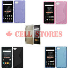Ultra Thin Soft TPU Silicone Jelly Bumper for Blackberry Motion