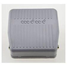 250V pedale pied controle momentane interrupteur electrique pedale SPDT gri Z9R7