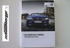 BMW Betriebsanleitung Deutschland ///M6 Cabrio  F12  MJ 2014 NEU 01402928100