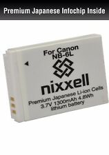 NX-NB6L WT Battery for Canon NB-6L/6LH,CB-2LY,PowerShot D10,D20,S90,S95,S120,