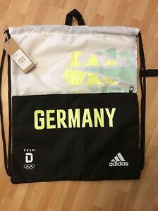 Adidas Team GERMANY Olympia DOSB Sportbeutel Schuhbeutel Olympia  Tokio TOKYO