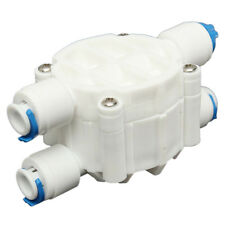 Reverse Osmosis 4 Way Auto Shut Off Valve For Systems / Window Cleaning O7F8